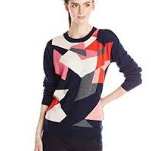 Trina Turk Geo Print Sweater